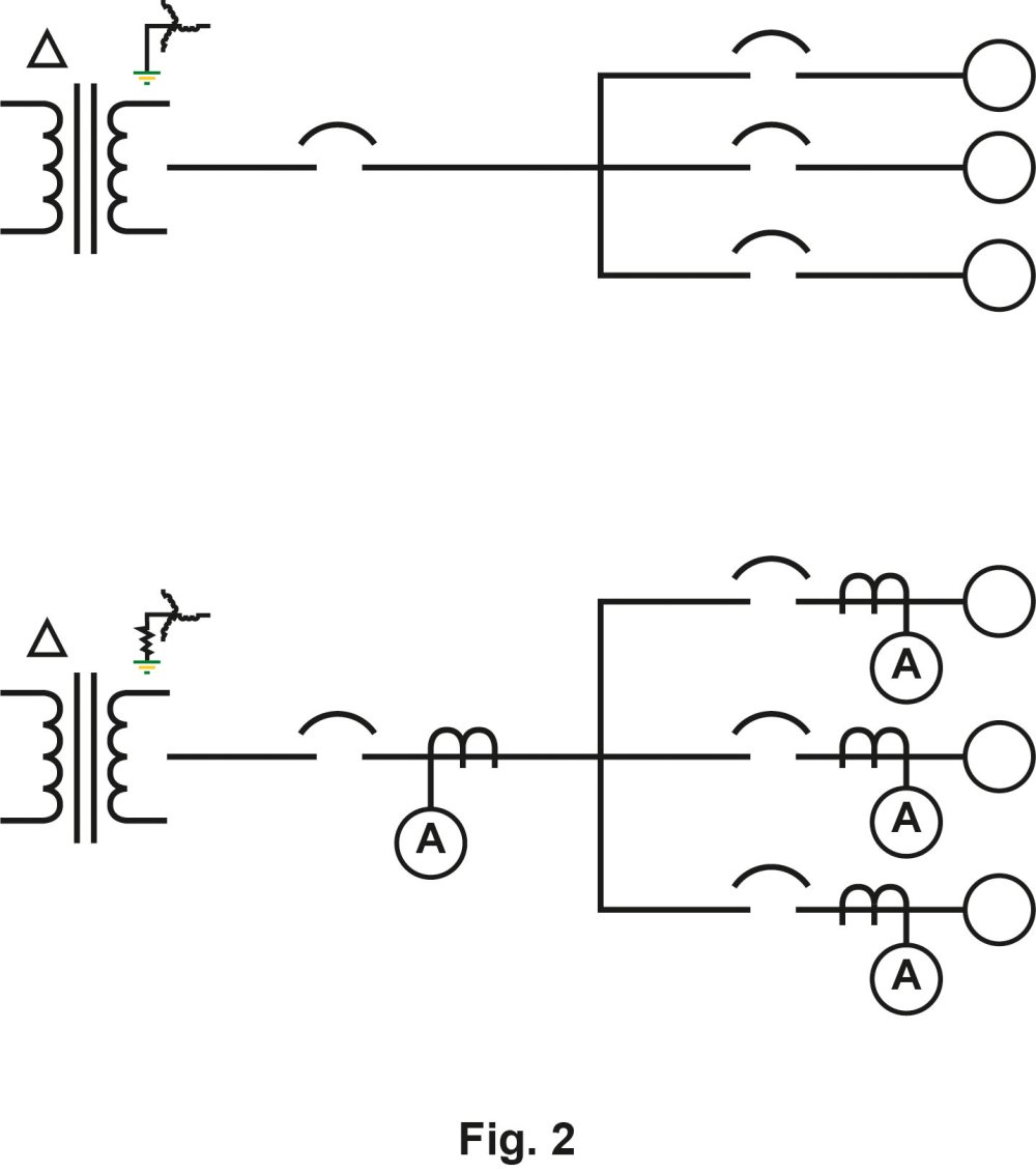 medium resolution of grounding system with without cts
