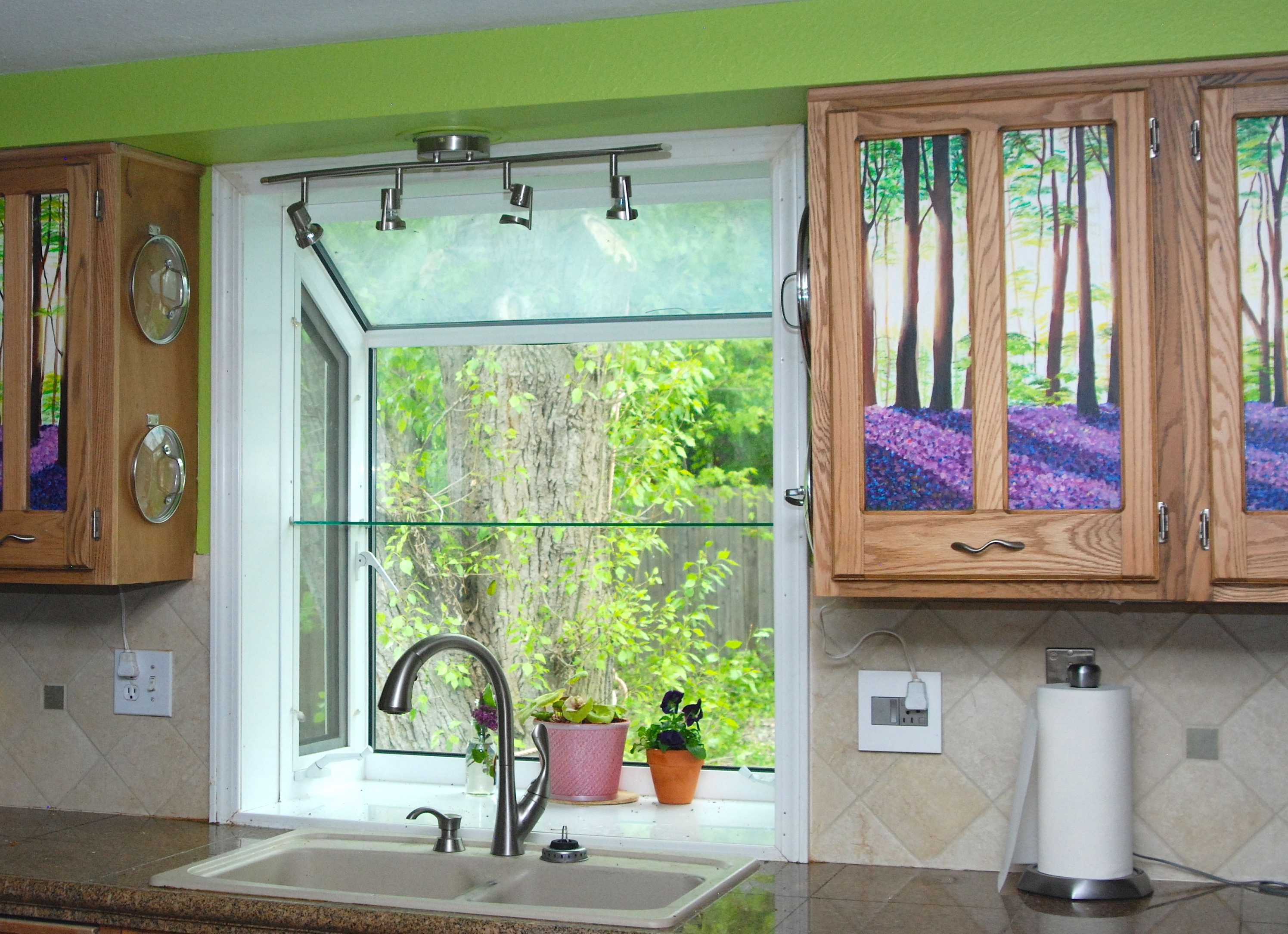 Imagine a forest in your kitchen