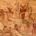 Sego Canyon, Utah cave paintings 7,5000 years old