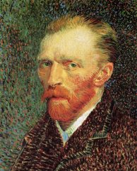 Self-portrait 1887, Van Gogh