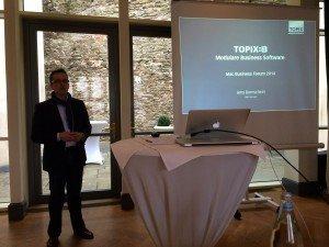 Topix 8 auf dem Mac Business Forum 2014