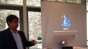 Merlin auf dem Mac Business Forum 2014