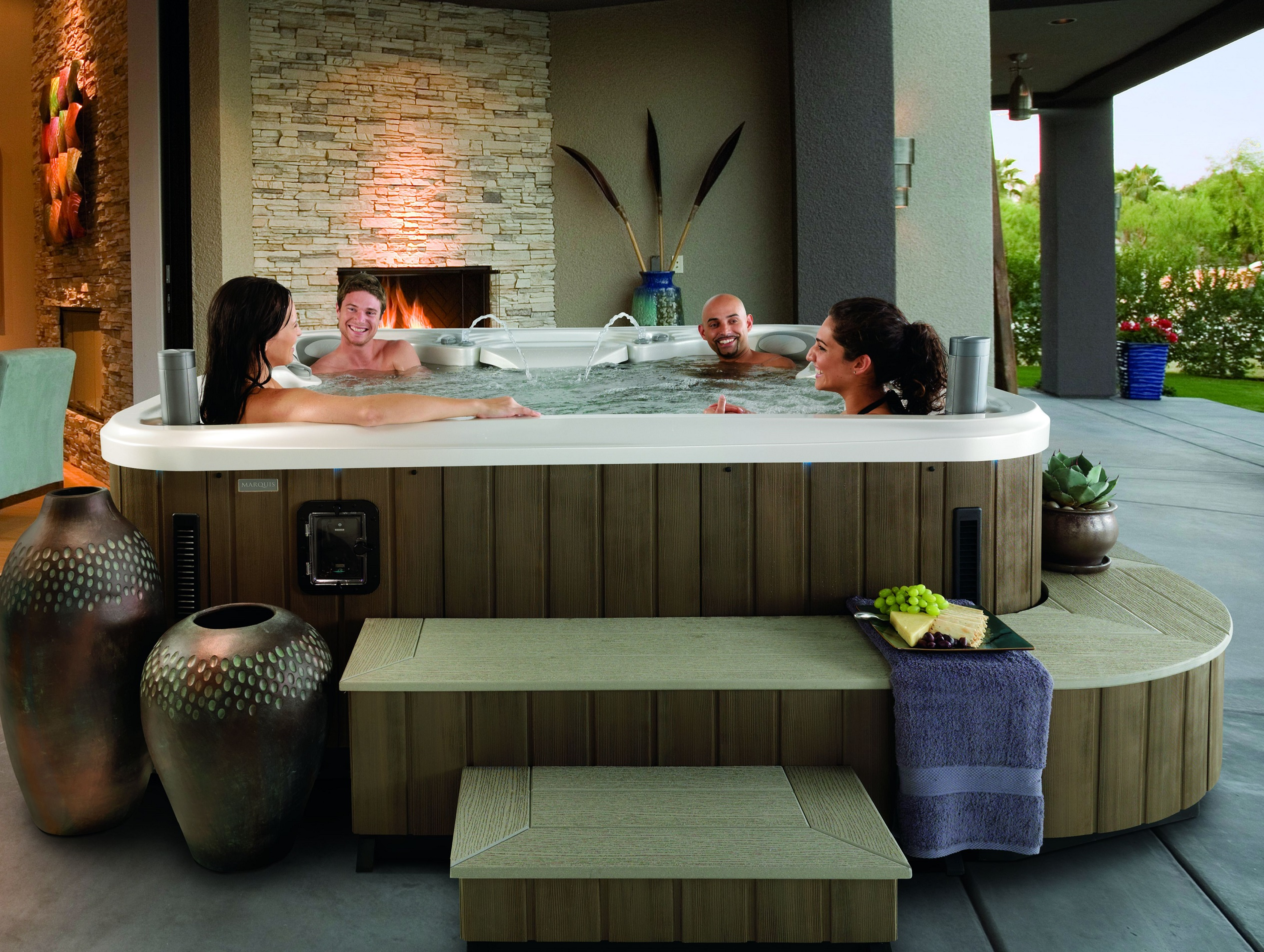Turn Your Hot Tub into a Haven with Marquis Environments - Fireside ...