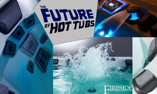 The Future of Hot Tubs Vector21 Series from Marquis