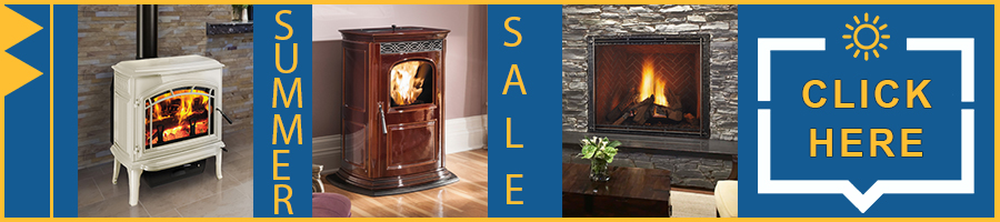 summer Free labor sale on fireplaces and stoves at Fireside of Bend, OR