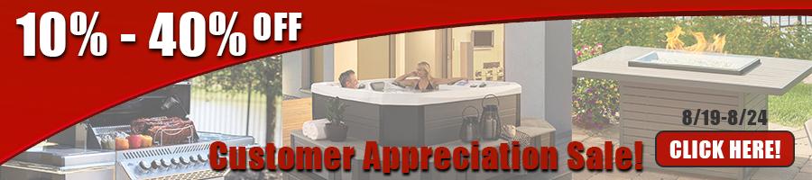 Customer Appreciation Sale Banner