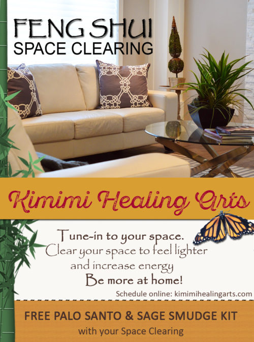 Free Smudge Kit w/your Space Clearing