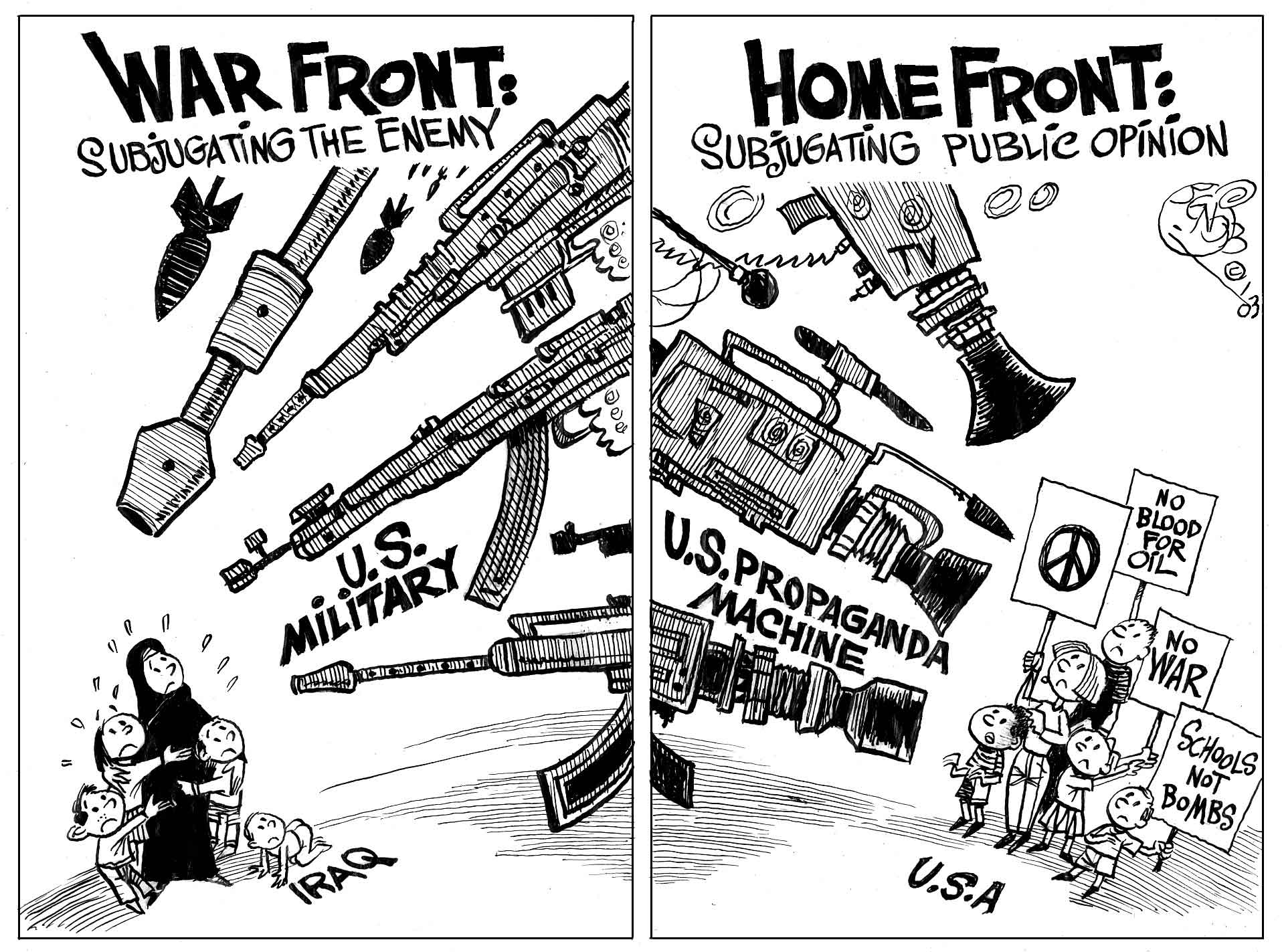 Opinions on Hegemony
