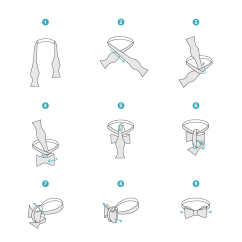 How To Tie A Bow Step By Diagram Boat Dual Battery Wiring Illustrated Instructions On Resource Bendinger Neckwear Resources