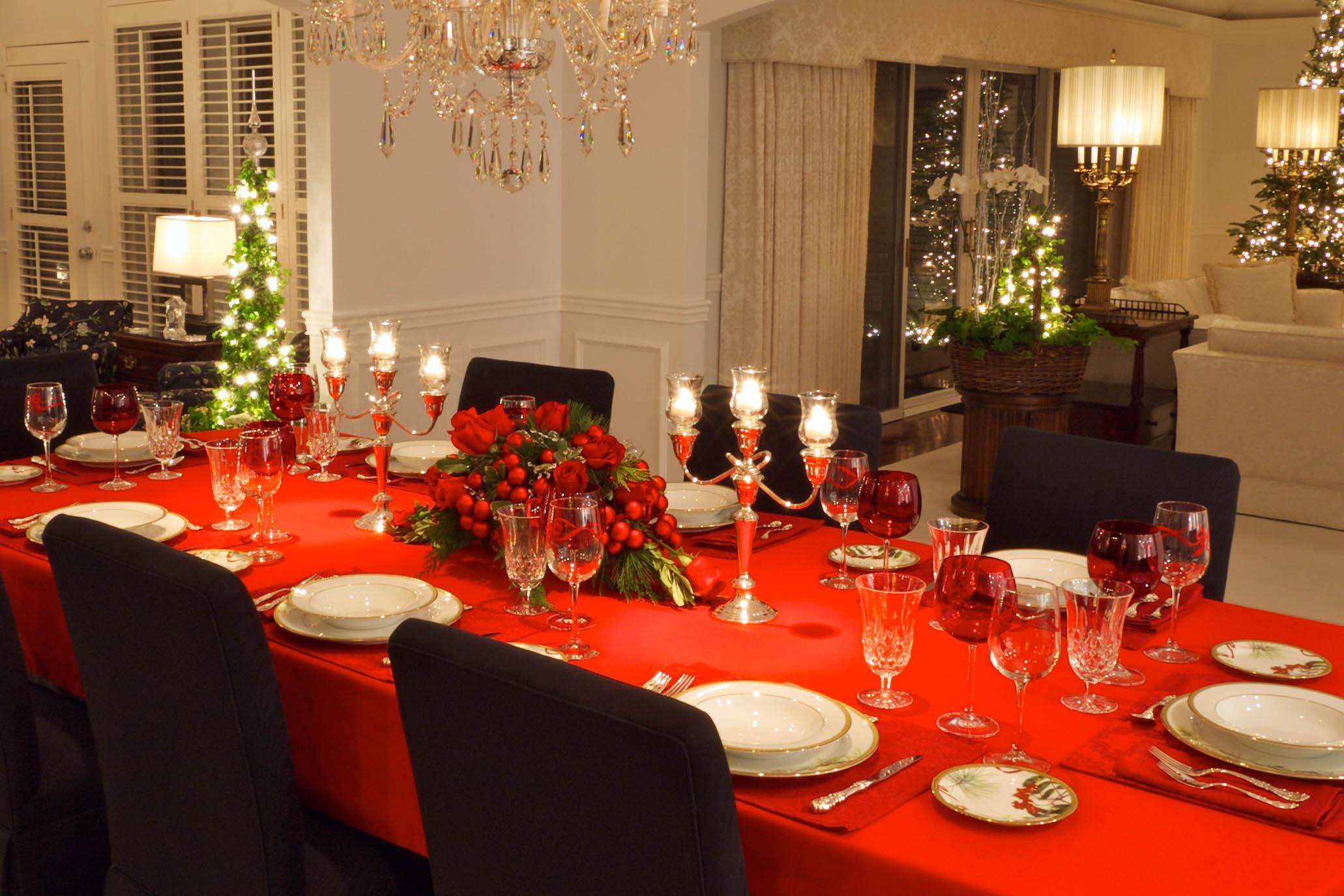 Ideas originales para decorar la mesa en Navidad  Bendita