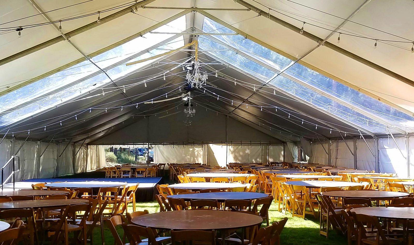 chair table rental swivel dinette sets edison lighting bend party rentals oregon tent