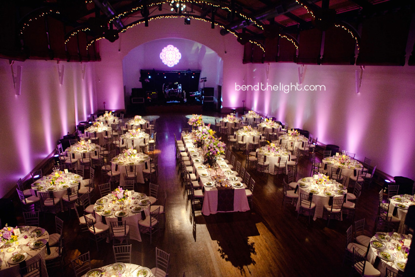 Tips for Clients Wedding Reception Lighting  Bend The