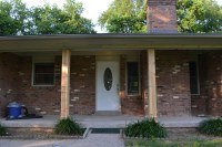 DIY Front Porch Columns - Beneath My Heart