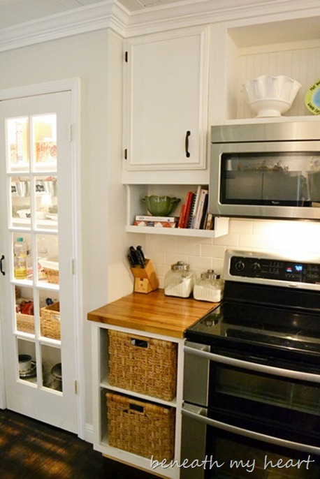 under cabinet shelving kitchen island movable our diy the cook book holder beneath my heart as well