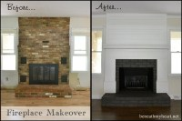Fireplace Makeover Reveal! - Beneath My Heart