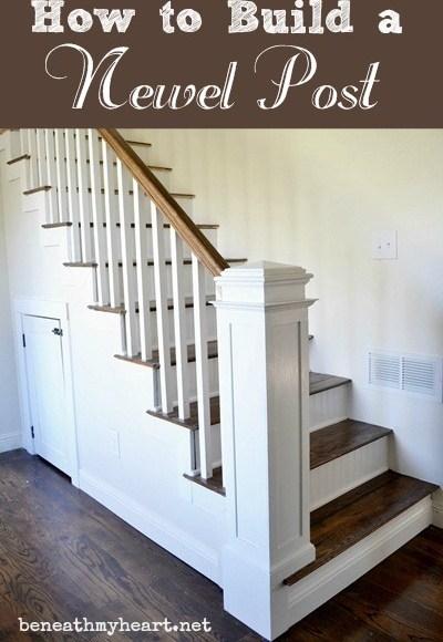 How To Build A Newel Post Beneath My Heart   Newel Post Cap Designs   Exterior   Porch   Vintage   Fancy   Rustic