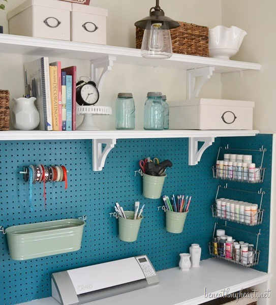 Craft Closet Makeover Beneath My Heart
