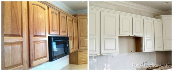 paint kitchen cabinets white cabinet hardware trends painting beneath my heart