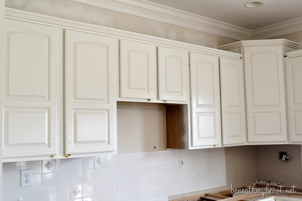 paint kitchen cabinets white metal tables painting beneath my heart