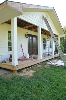 Fixer Upper Front Porch Makeovers