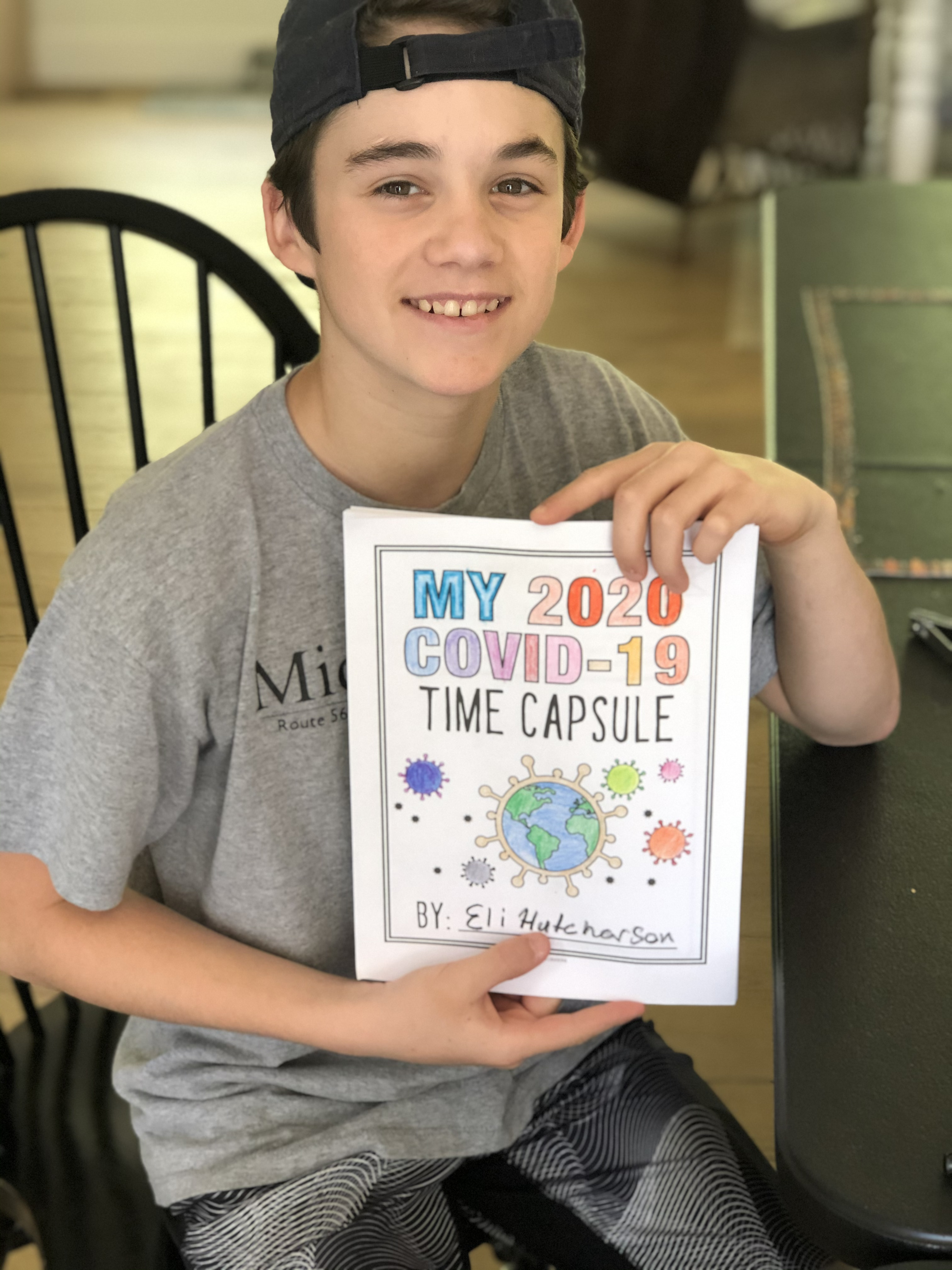 Covid 19 Time Capsule Activity For Kids And Adults