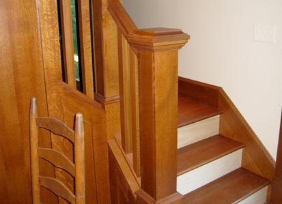 Restaurare una scala di legno
