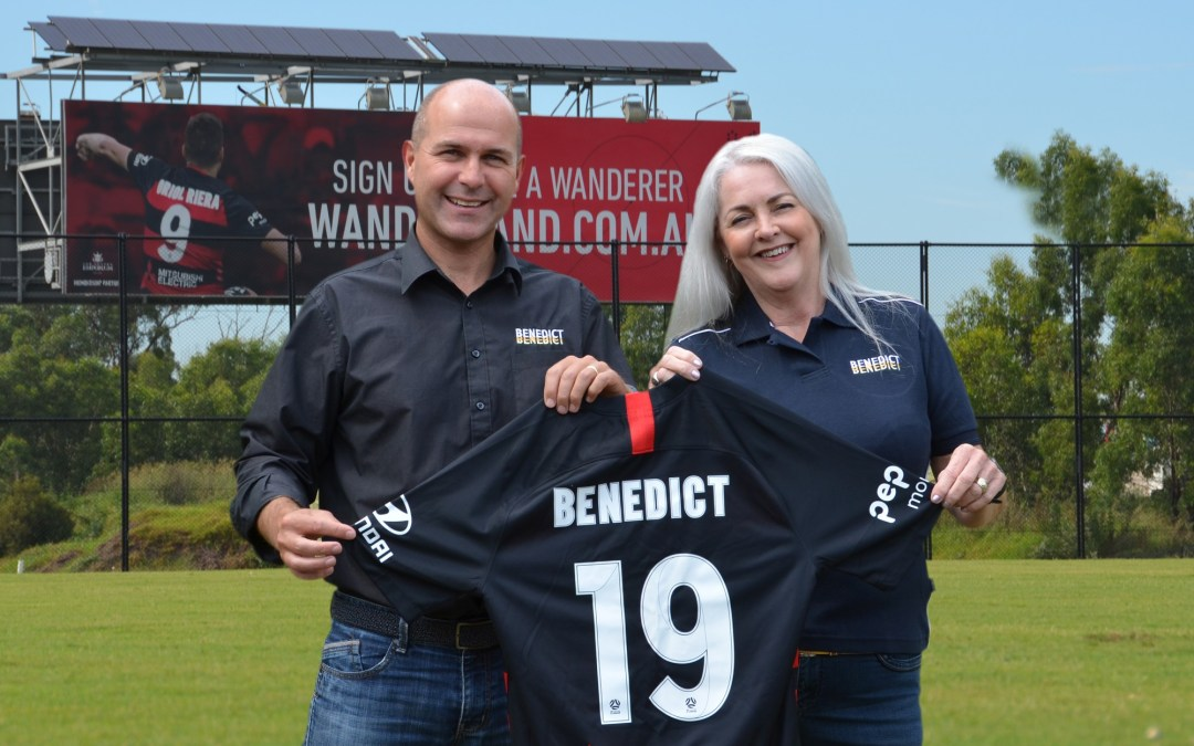 Benedict announces two year sponsorship of the Western Sydney Wanderers