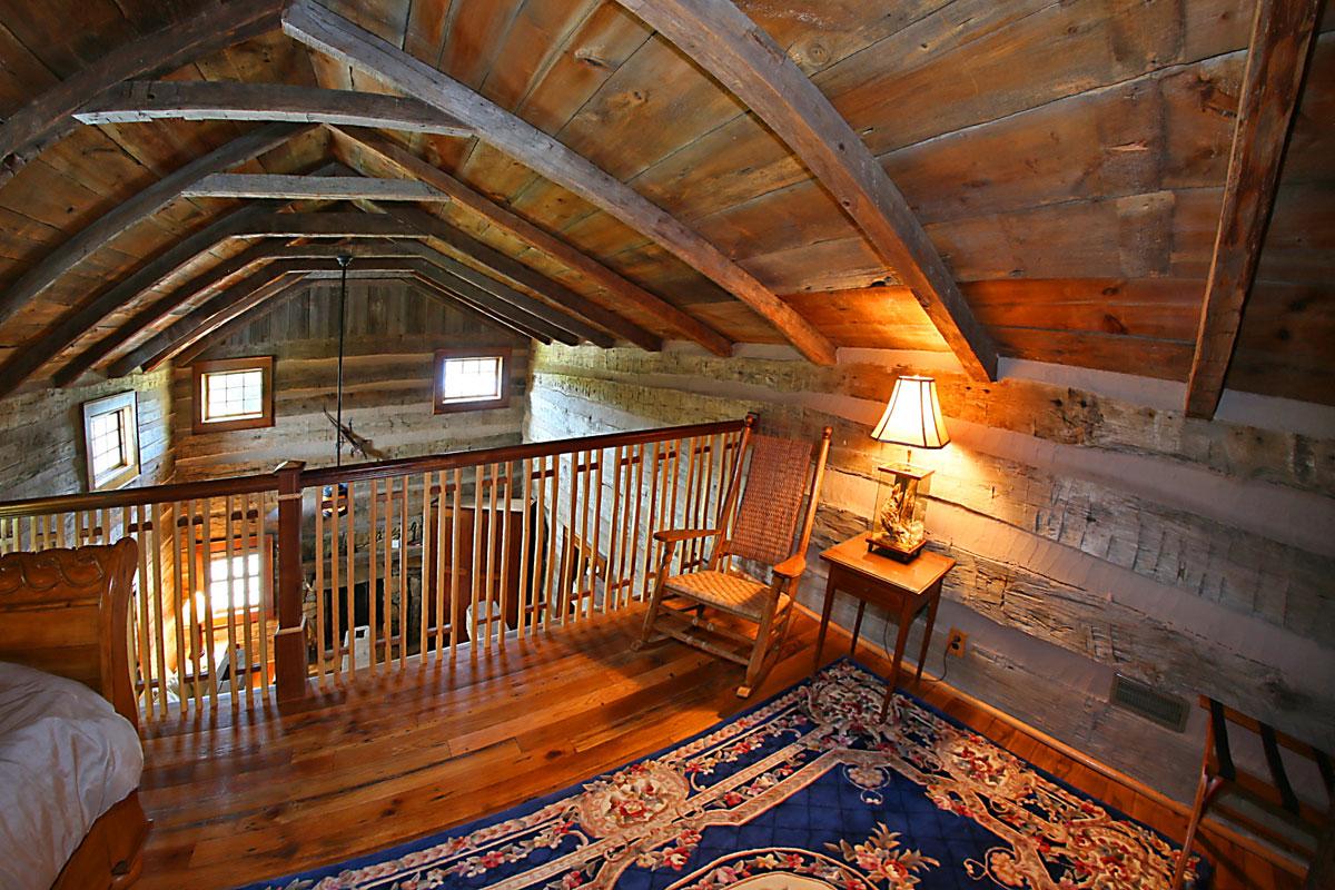 Benedict Haid Img 5396 Upstairs Loft Bedroom Benedict Haid Farm A Rustic Beautiful Wv Wedding Event Venue