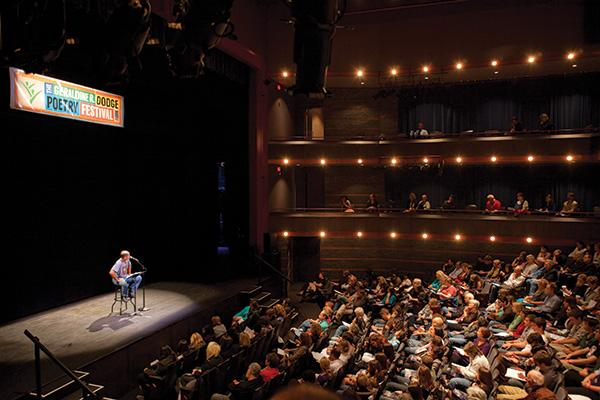 Students Attend Biggest Poetry Festival In The US