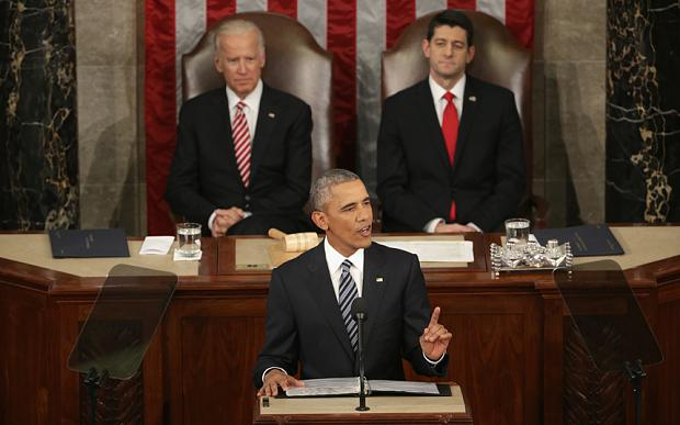 President Barack Obama stood before Congress to deliver his final State of the Union address.