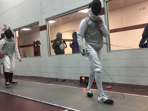 Fencing Team Advances Past Bayonne High School