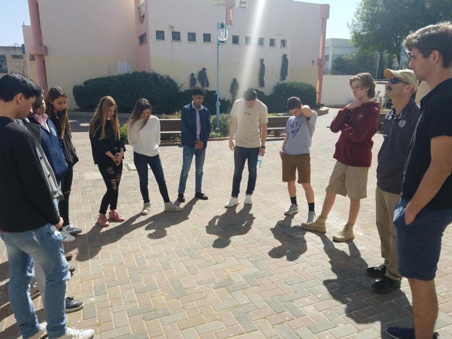 SBP in Israel 2018: In Solidarity, Staging a Walkout