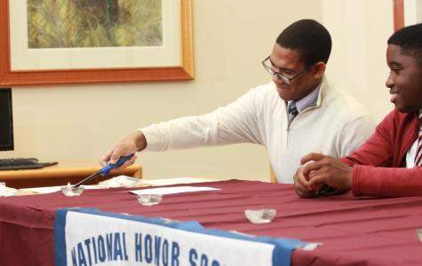 NHS Inducts New Members, Forms Junior Chapter