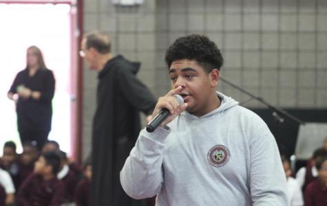Wynn Electrifies Crowd with Rap Freestyle