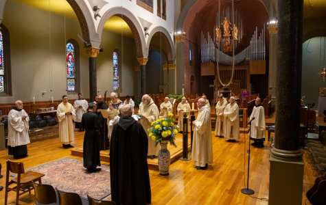 A New Monk for St. Benedict's