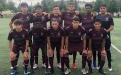 Gray Bees Varsity Soccer Team Kicks  Off Season with a 5-0 WIN