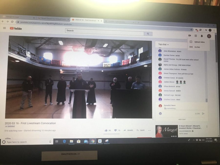 SBP leaders staged a virtual Convo this morning streamed on YouTube.