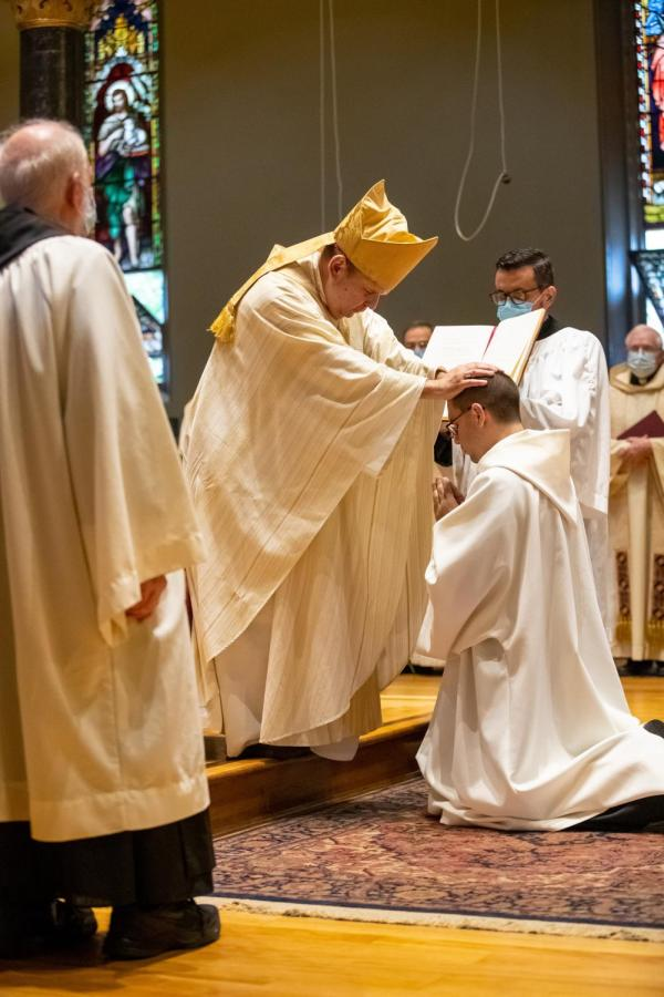 Pursuing+his+lifelong+quest+to+become+a+Catholic+priest%2C+Br.+Asiel+Rodriguez+was+ordained+a+deacon+on+Saturday+by+Bishop+Manuel+Cruz.