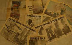 A collection of news clippings capturing the shock and tragedy of Sept. 11, 2001