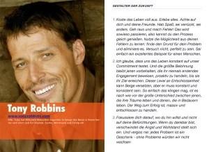 """Vorschau """"Gestalter der Zukunft"""": Tony Robbins"""