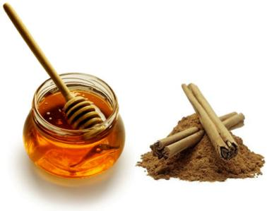 Cinnamon and honey taste great together!