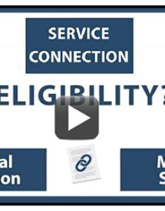 Text service connection eligibility medical condition with to also compensation home rh benefits