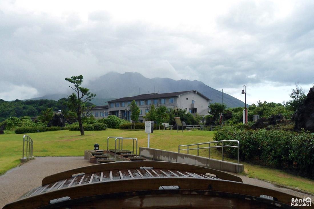 Ashiyu, Sakurajima