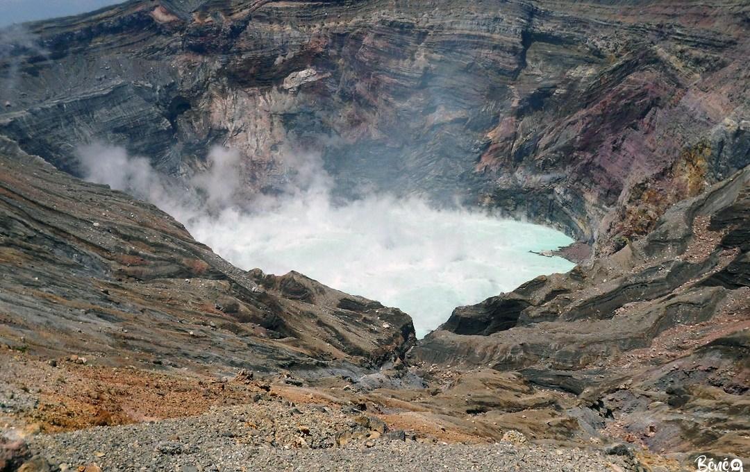 Le cratère Naka-dake du mont Aso, Kumamoto
