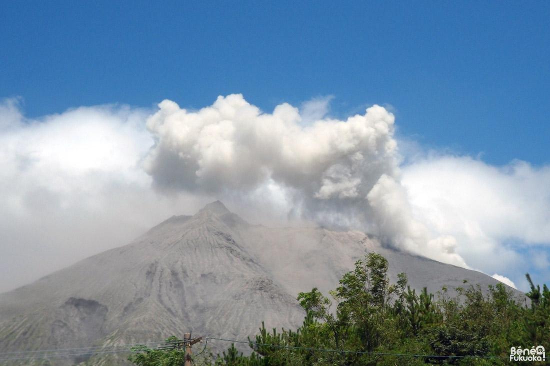 Eruption du Sakurajima, Kagoshima