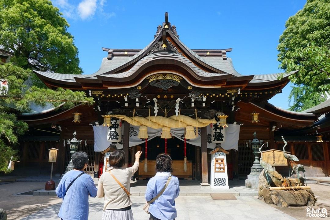 Le sanctuaire Kushida