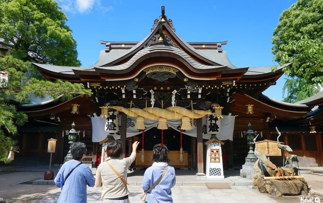 Ma visite du sanctuaire Kushida, le berceau de Fukuoka