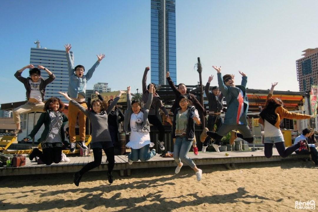 Sortie à Momochihama, Aso College Group, Fukuoka