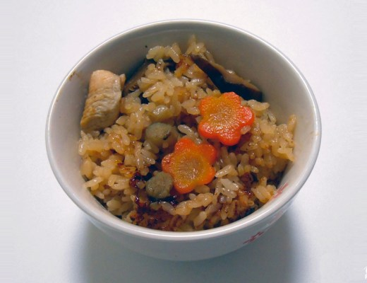 Recette du kashiwa meshi (cuisine de Fukuoka)
