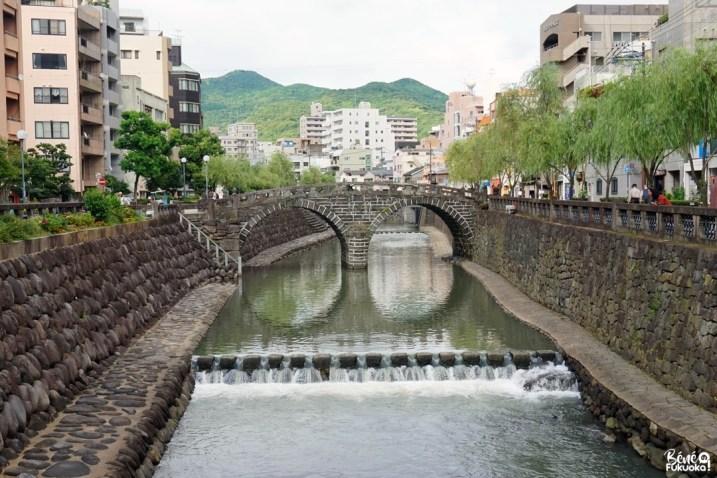 Megane-bashi, le pont à lunettes de Nagasaki
